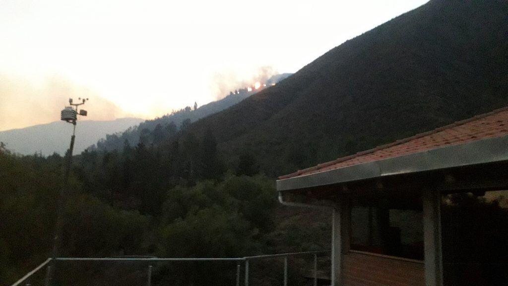 Feuer am Berg – Gefahr für Mollesnejta: 1. – 3. August 2019